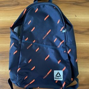 Reebok blue backpack